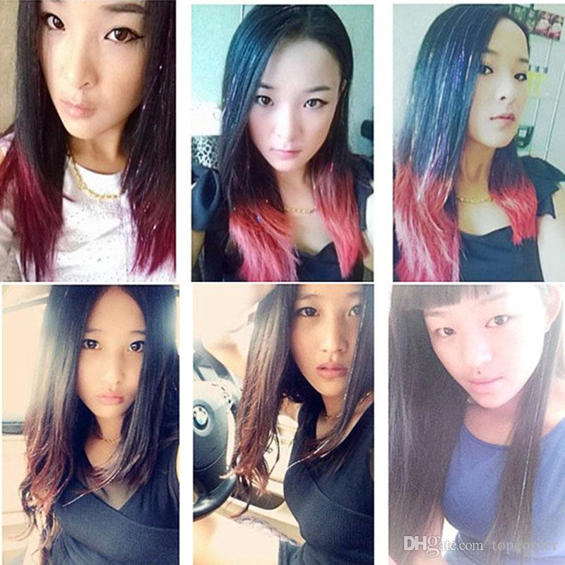 Гаджет   200pcs/lot Ladies Straight Hairpieces Hair Wigs Hairpins Girls Hair Accessories HW104 None Изготовление под заказ