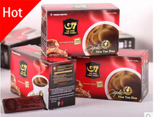 3 Boxes 45 Slimming Coffee for Weight Loss Vietnam Instant G7 Coffee 100% Imported with Original Packaging Hot Sale Black Coffee(China (Mainland))