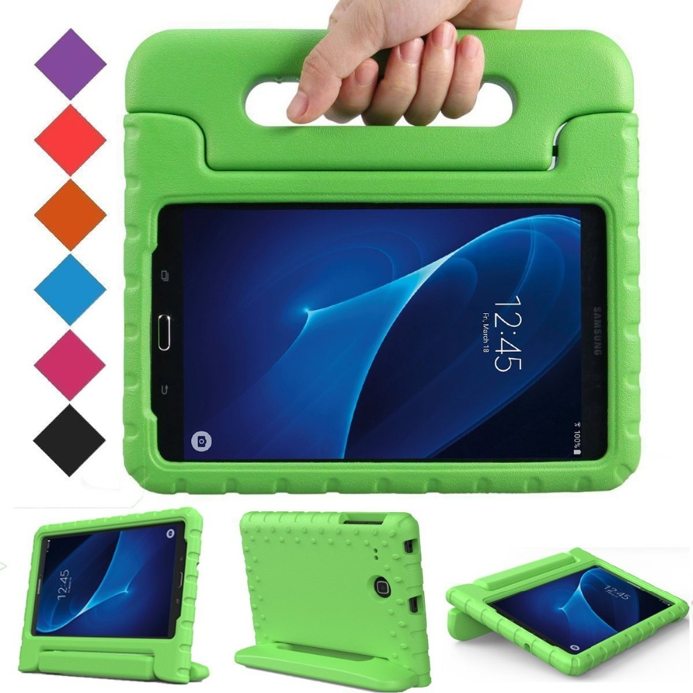 30Pcs Light Weight Kids Case Super Protection Cover Handle Stand Case for Kids Children for Samsung Galaxy Tab A 7-inch Tablet(China (Mainland))