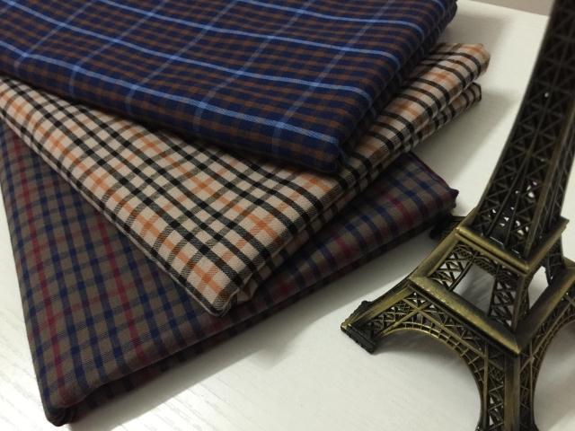 Acheter pf37 ponc coton tissu tissu textile tartan hiver d tail ou en gros par - Poids d un metre cube de sable ...