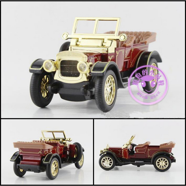 Super 1pc 12.5cm delicate Classical convertible bubble car simulation collect model alloy car home decoration gift toy(China (Mainland))