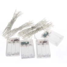 4 X White Mini 20 LEDs Wedding Party Christmas Fairy String Lights