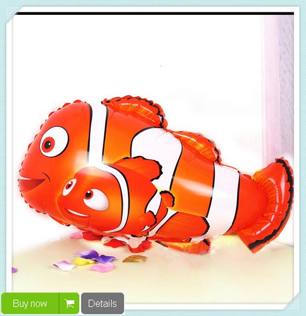 18 дюймов мультфильм рыба клоун фольгированные шары на воздушном шаре шаровые гелия Inflable гигантские латексные шары для Christams украшения