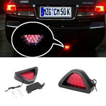 New Motorcycle tail light Motorbike Moto Brake Light Flash Strobe Emergency Warning  LED stop signal Lamp hot selling~(China (Mainland))