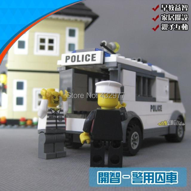 assembled series 6730 police open educational toys prison children enlightenment plastic toy building blocks - NO.1 e_center store
