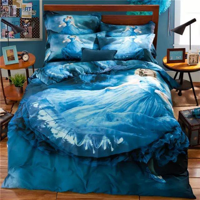 Cinderella Twin Bed Set