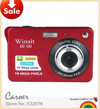 DHL free shipping 2013 new household ultra-thin digital camera 12 Mega Pixel anti-shake mini camera cheap price on sell