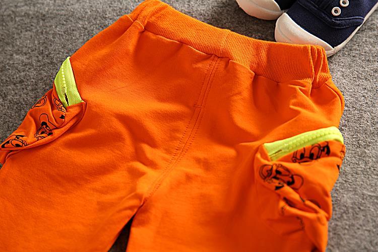 Дети мальчики одежды устанавливает футболка с длинным рукавом + брюки дети мальчик спортивный костюм Cartton мальчик комплект одежды осень хлопок носить
