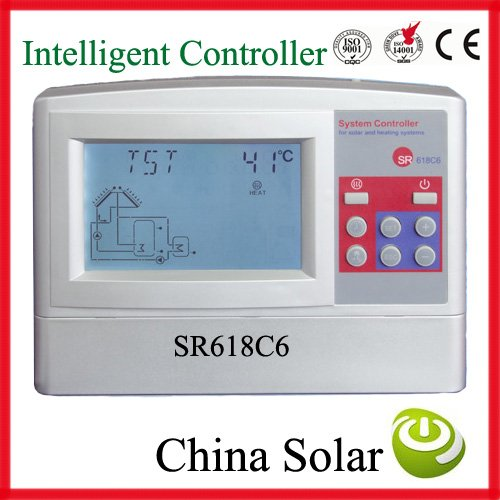 Solar Water Heating System Controller Sr618c6 Model Send You Manual 12 System Including