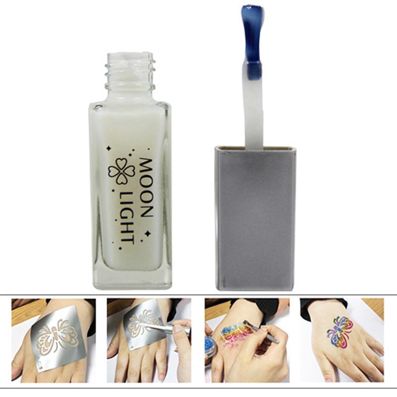Popular temporary tattoos paint buy cheap temporary for Glitter tattoo glue