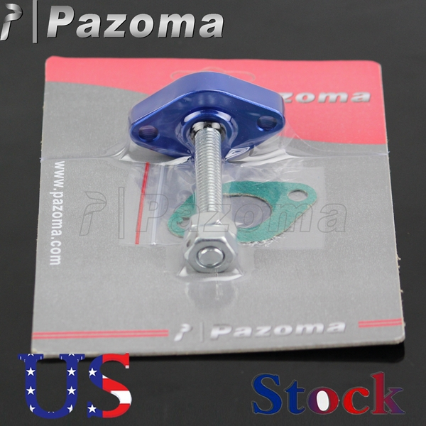 PAZOMA Supermoto Blue Street Manual Cam Timing Chain Tensioner FOR suzuki SV 650, 99-07 GN 250 82-83, 85/88 GS 500E/F, 89-08(China (Mainland))