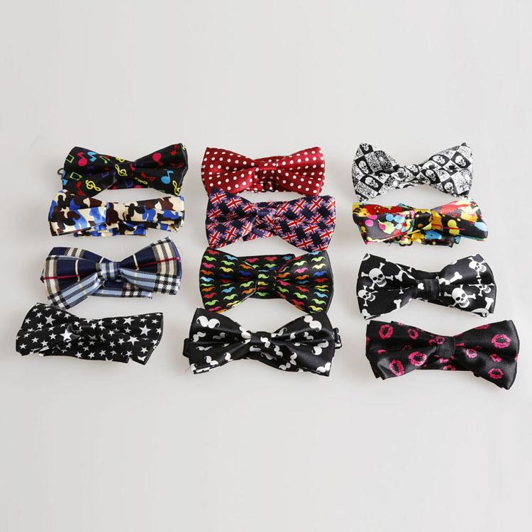 Fashion Mens Multi Styles Fashion Unique Tuxedo Bowtie Wedding Party Fancy Plain Bow Tie Necktie Fashion Accessories(China (Mainland))