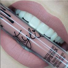 2016 New fashion!!! Lip Kylie Lip gloss by kylie Jenner Lipstick With Lip Gloss Liquid Matte Lasting Makeup