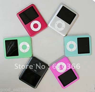 100pcs 3rd generation MP4 player 1.8 inch screen 8GB can choose personality logo DHL Free Shipping(China (Mainland))