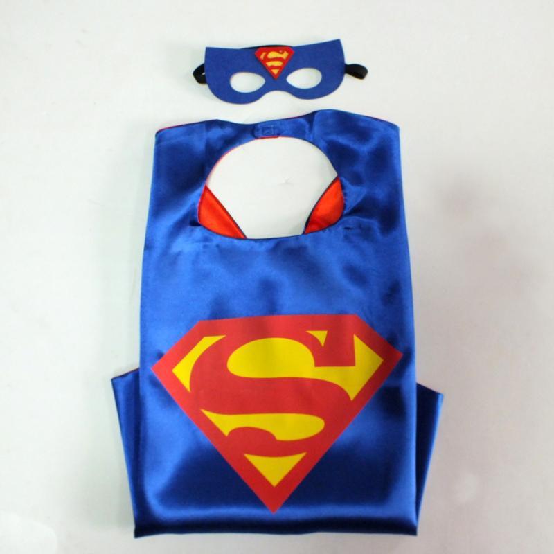 Superhero Cape - Superman, Spiderman, Batman, Flash, Supergirl, Batgirl, Robin, kids capes(China (Mainland))