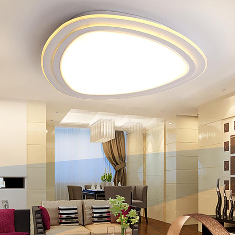 Modern led ceiling lights for living room bedroom lamparas de techo modern led light fixture ceiling lamp luminaire plafonnier(China (Mainland))