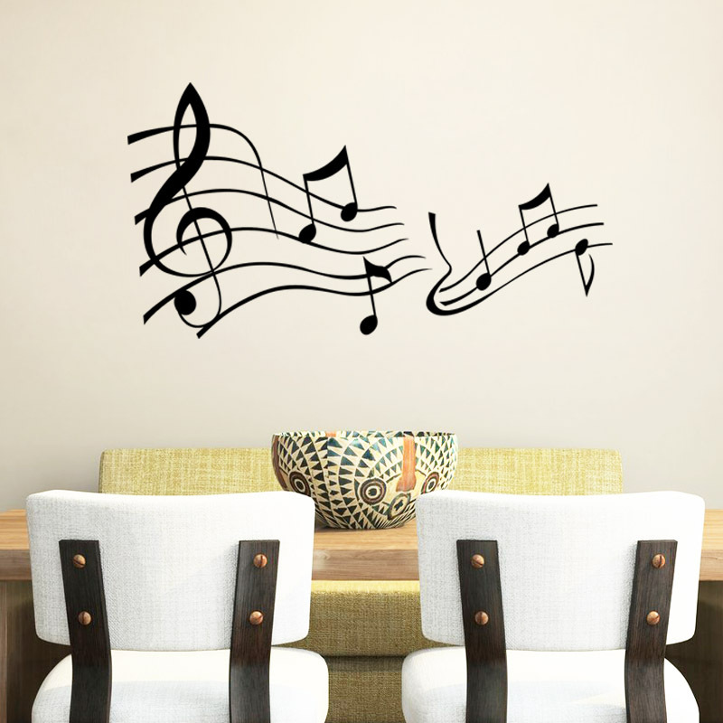 Word Wall Art Vinyl Lettering Home Decor ~ Music wall say quote word lettering art vinyl sticker
