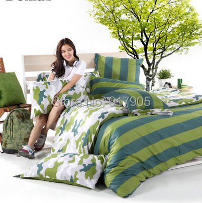 Cheap camo bedding sets camouflage duvet cover blue bed for Housse futon walmart