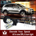 Night Lord For Chevrolet Trax 2014 LED DRL WY21W 7440 T20 Front Turn Signals light DRL
