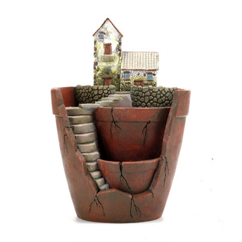 flower pots garden planters resin creative pots for