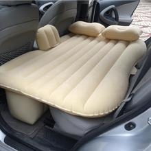 Car covers Car back Seat inflatable Air Mattress bed High quality Car flocking inflatable bed 2 Pillow Cushion as gift Car bed(China (Mainland))