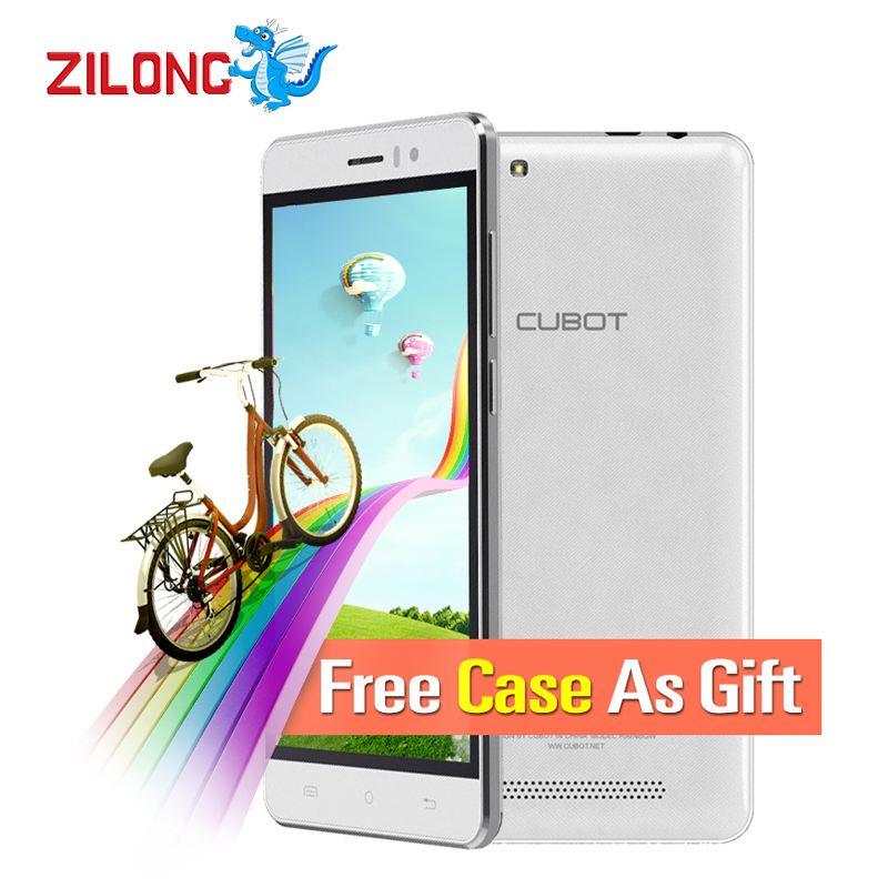 2016 Newest Original CUBOT RAINBOW 5.0 Inch Smartphone Android 6.0 MT6580,Quad-Core,1.3GHz 1GB+16GB 13.0mp 2200mAh Cell Phones(China (Mainland))