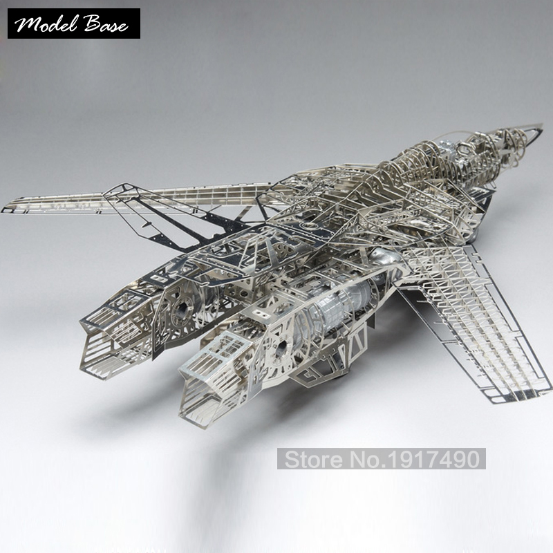 Cubic Fun 3d Puzzle Valkyire Space Fortress Macross Scale 1/72 Jigsaw Metal Kids Toys DIY Teaser Games For Children(China (Mainland))