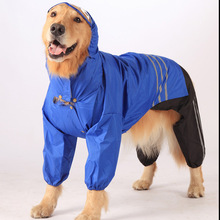 CAR003 2015 Three-Piece Suit Large Dog Rain Clothes Waterproof Coat Jackets for Dogs Pet Products Pet Clothes for Dogs Costume