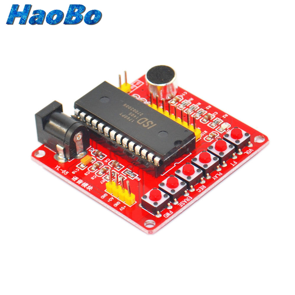 2PCS ISD1700 Series Voice Record Play ISD1760 Module For AVR Arduino PIC Factory Price(China (Mainland))
