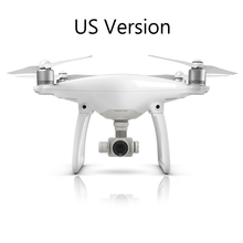Newest Camera Drone DJI Phantom 4 RC Helicopter With 4K Camera And 3-Axis Gimbal FPV Quadcopter with Free Gift A Mini Drone(China (Mainland))