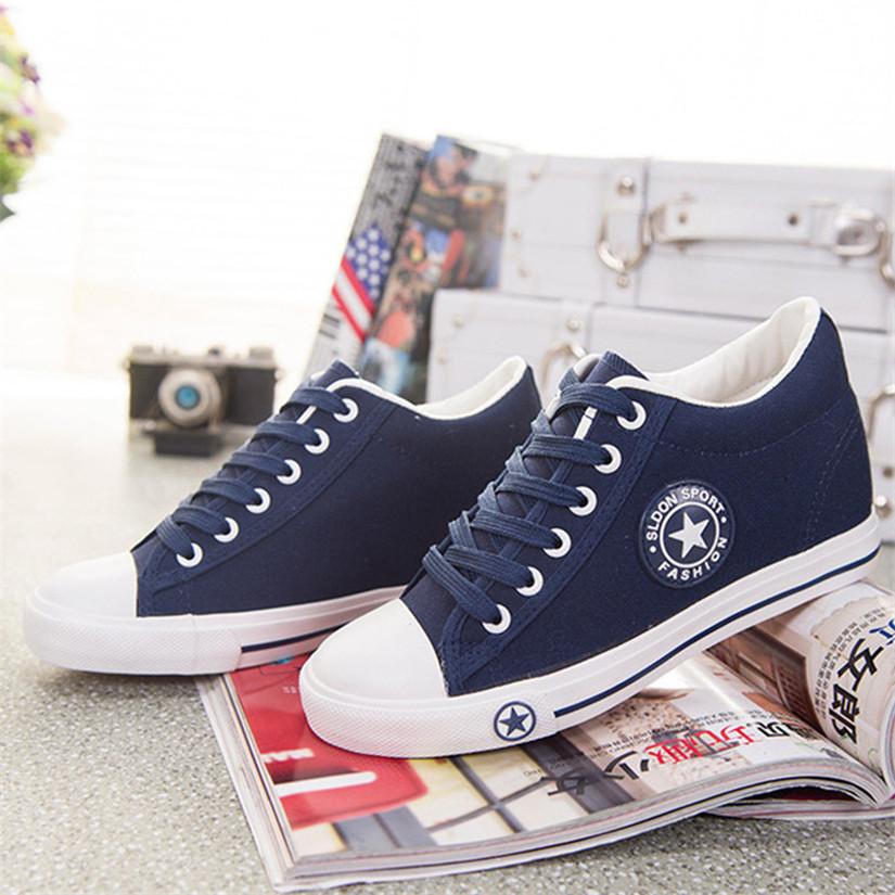 Canvas Shoes White Color