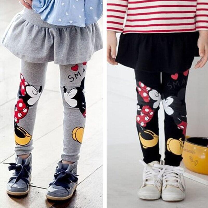 Baby Girls Leggings Winter 2015 New Velvet Children Leggings Girls Pants Warm Character Kids Pantskirt Baby Girls Dress Leggings(China (Mainland))