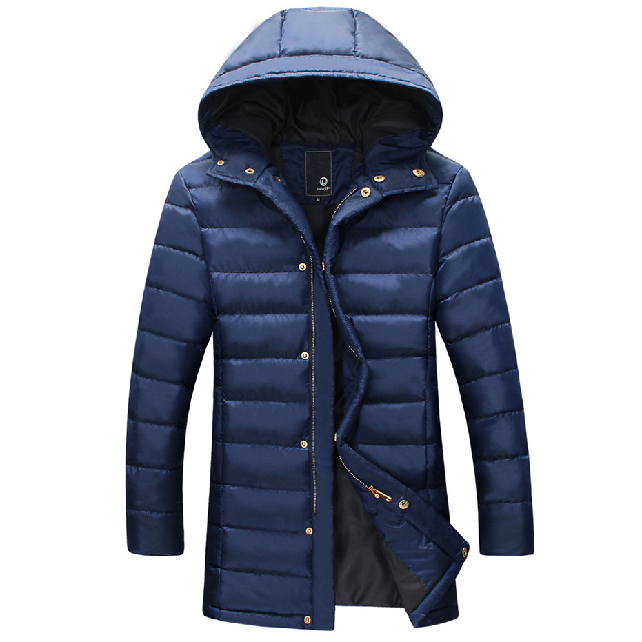 Winter jacket man Thick mens parka jackets fur hood Casual casaco winter coats men clothes Long style coat warm New 2015 - LONMMY store