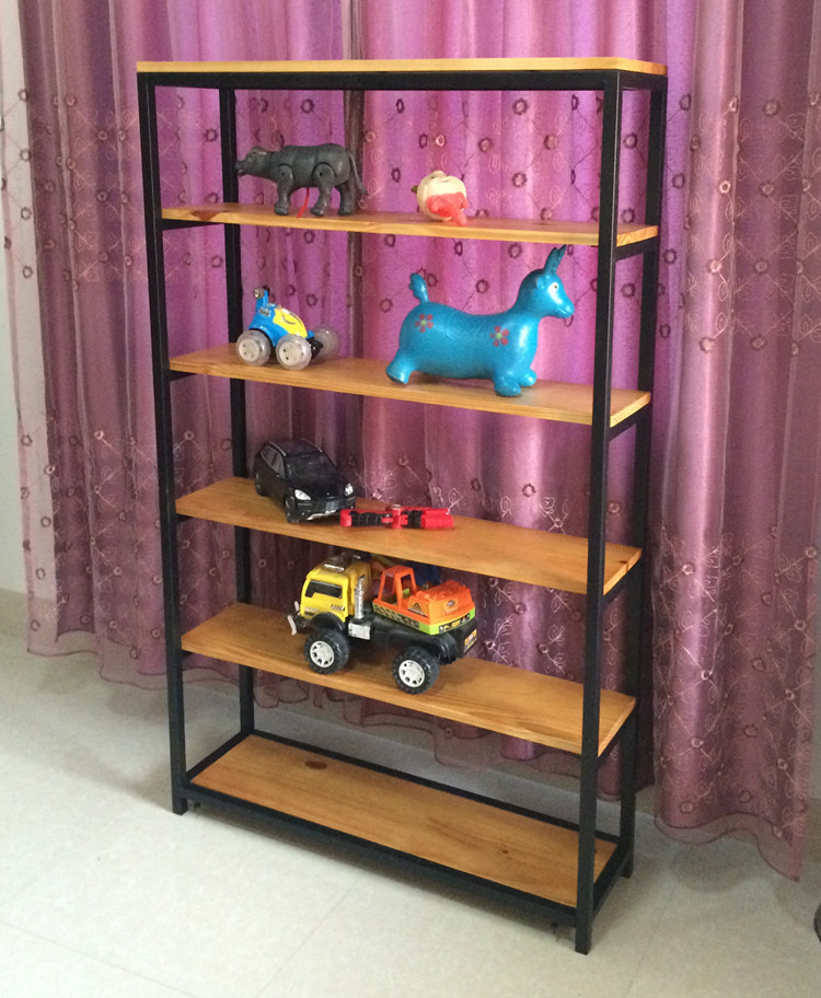 cheap wood bookcase ikea bookcase shelf iron display shelf