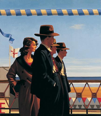 oil painting Canvas Art,The Defenders of Virtue by Jack Vettriano ,High quality,Hand-painted, Modern Home decor, Gift(China (Mainland))