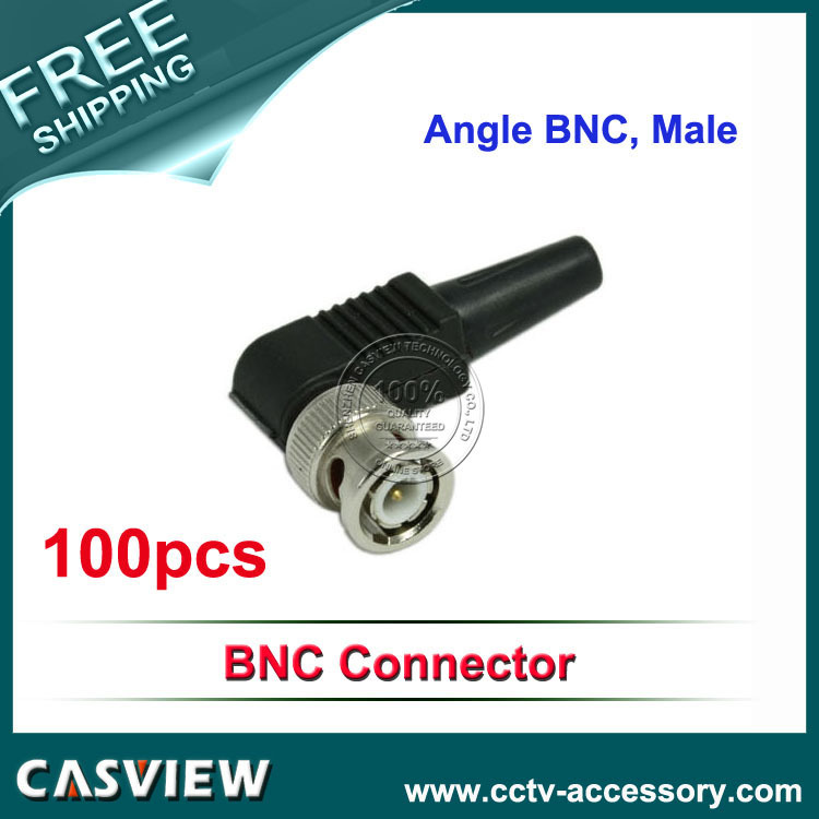 90 degree CCTV Male BNC Easier for camera installation save time and safer cable connection(China (Mainland))