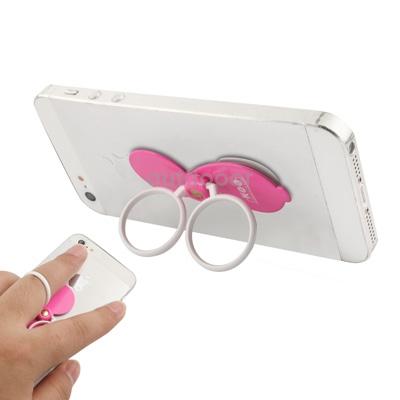 Гаджет  Pure Universal Metal Phone Ring Rotatable Bracket White Newly High Quality None Изготовление под заказ
