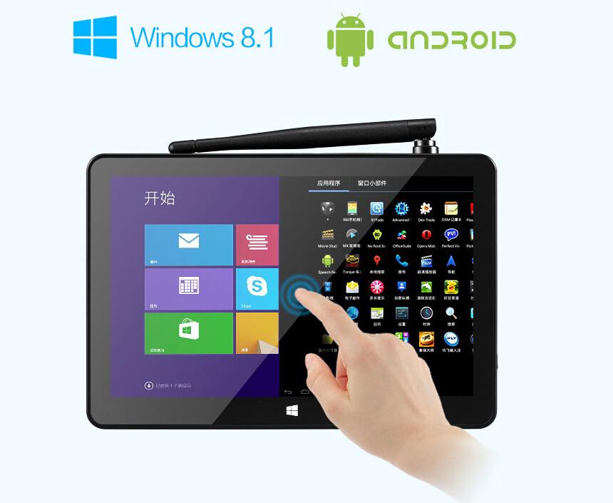 Original PIPO X8 Intel Z3736F Quad Core nettop Dual Boot 7 INCH Tablet Mini PC HDMI micro pc WIFI android mini pc android 4.4(China (Mainland))