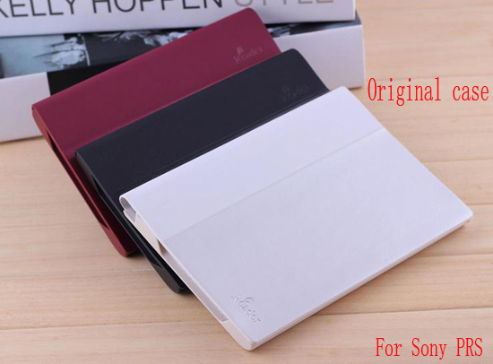 Original Case For Sony Ebook Reader PRS T1 T2 prs-t1 prs-t2 Leather Cover(China (Mainland))