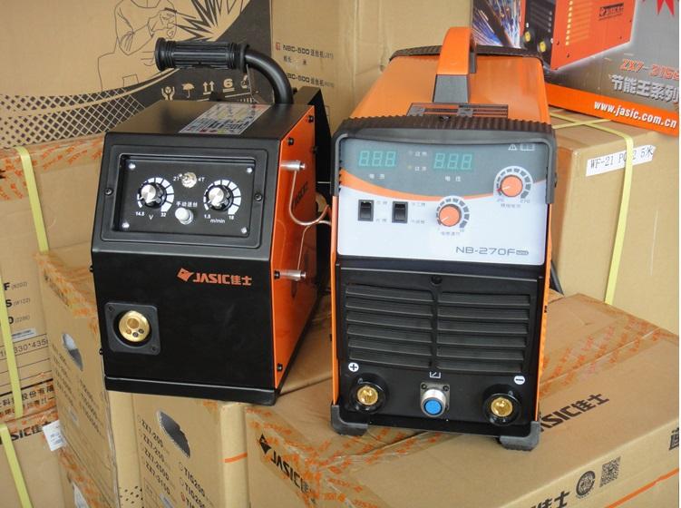 Standard MIG welder MIG270F with wire feeder Stable MIG Welding Machine NB270F Portable Gas Welding Machine Seperated Gas Welder(China (Mainland))