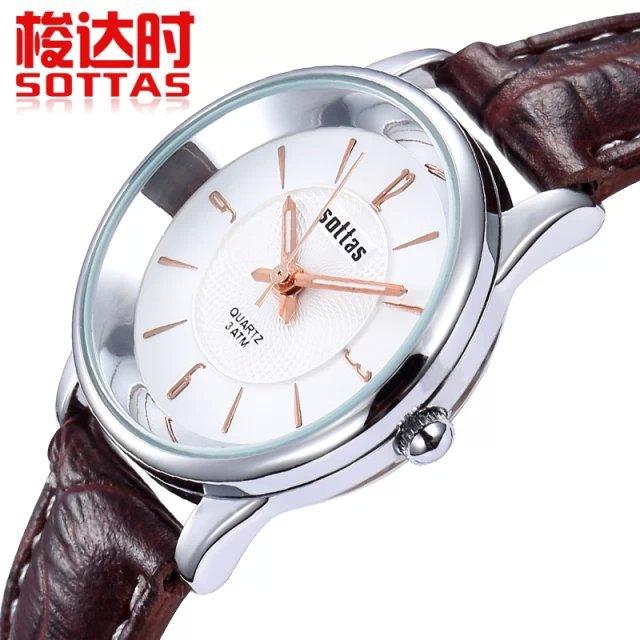Freeshipping 2014 new women luxury dress watches fashion casual quartz watch Hot gift wristwatches Top brand Sottas 5041 clock<br><br>Aliexpress