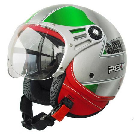(2016) Italian Design ECE DOT motorcycle helmet,Unisex Open Face CASCO Jet Sport Urban Vintage Style Capacete (Free shipping)(China (Mainland))