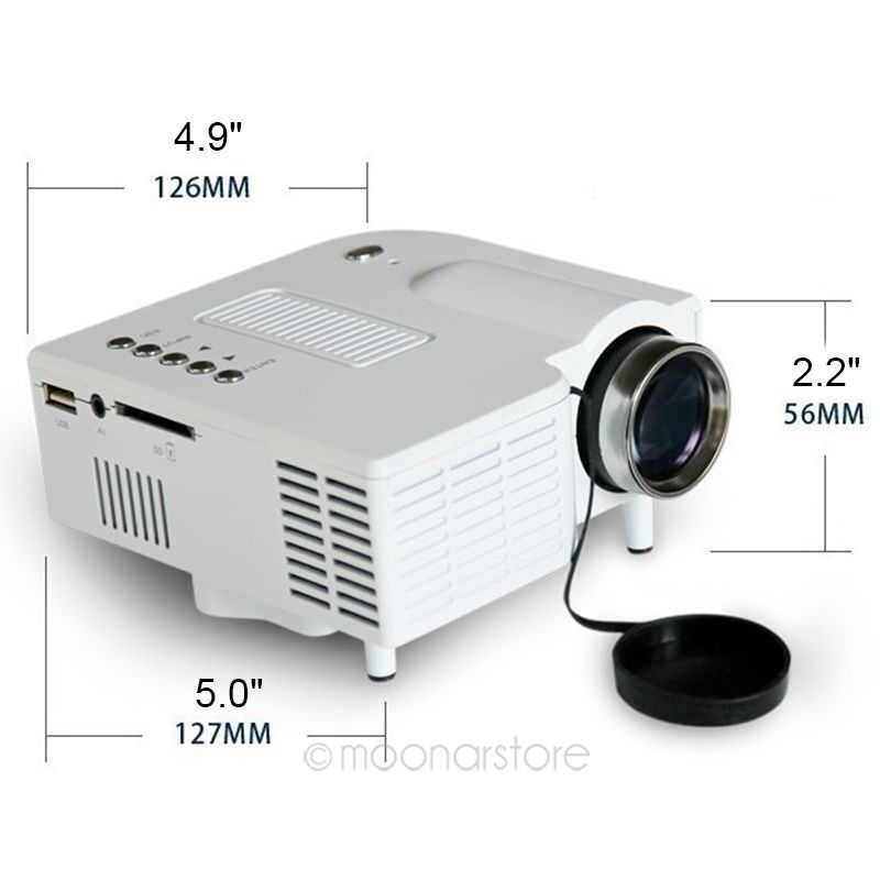 UC28+ LED Domestic Projector, High Definition Mini Projector For Home DA1063(China (Mainland))
