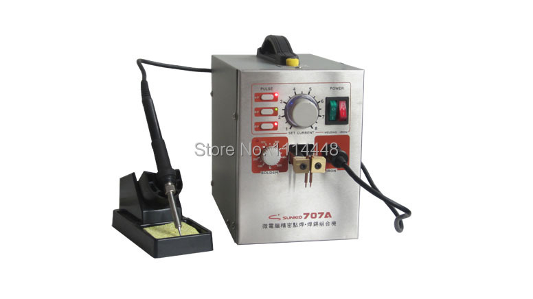 New Mobile Phone Notebook Battery Micro Pulse Spot Welder Welding Equipment Machine & Solding Machine Solder Two in One 707A(China (Mainland))