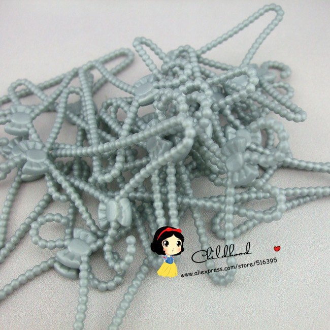 Manufacturing unit supply 10pcs / lot  high quality gray shade plastic hangers For Barbie doll accent