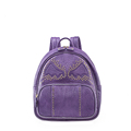 Edgy Rivet Ornament Chic Backpack 2016 New Fashion Small Daypack Casual Bag Women Cartoon Packsack Lady
