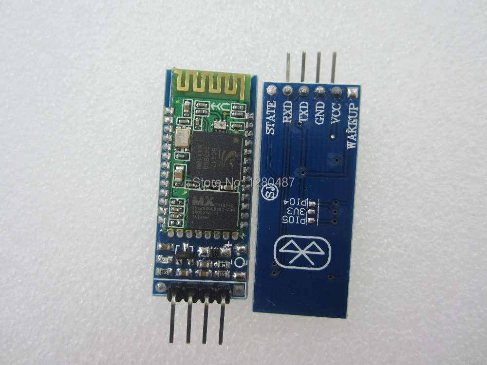 Электронные компоненты Wireless Bluetooth Transceiver Module HC-06 1 /06 06 RF Bluetooth RS232 /ttl UART freeshipping rs232 to zigbee wireless module 1 6km cc2530 chip
