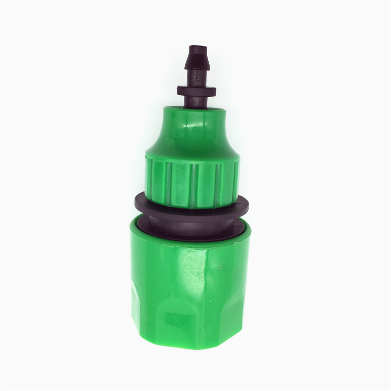 """2 Pcs Fast Coupling Adapter Drip Tape For Irrigation Hose Connector With 1/4 """"barbed Connector Garden Irrigation Garden Tools(China (Mainland))"""