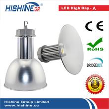 Free shipping hongkong fair super bright 100w pc reflector led high bay lamp bridgelux ac85-265v 9500lm(China (Mainland))