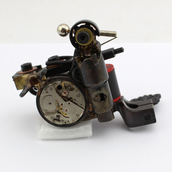 Professiona Luo's handmade hollow out tattoo machine custom tattoo sun supplies